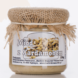 Mód z kardamonem | Bartnik Mazurski